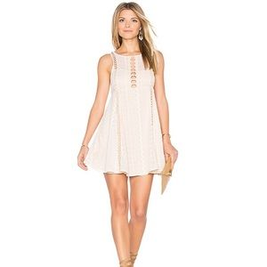 """Free People """"Wherever you go""""  ivory dress"""